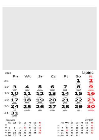 fotokalendarz 13 stronicowy biały 07