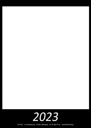 fotokalendarz 13 strony Czarny 00